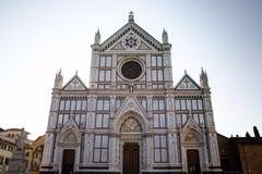 Les Di Santa Croce de basilique Photographie stock libre de droits