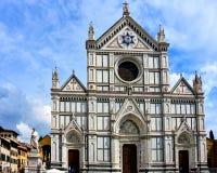 Les Di Santa Croce de basilique ? Florence, Italie photos libres de droits