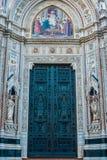 Les Di Santa Maria del Fiore de Cattedrale Image libre de droits