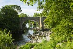 Les diables jettent un pont sur près de Kirkby Lonsdale, Cumbria Photo libre de droits