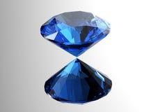 les diamants 3D rendent Pierre gemme de bijoux Photographie stock libre de droits