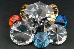 Les diamants sont forever images stock