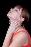 Les diamants sont l'meilleur ami d'une fille Photographie stock