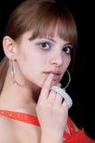 Les diamants sont l'meilleur ami d'une fille Photographie stock libre de droits