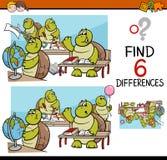 Les différences chargent pour des enfants illustration libre de droits
