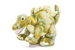 Les dinosaures de tyrannosaure jouent d'isolement sur le fond blanc avec le chemin de coupure Photo stock