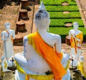 Les disciples de Bouddha Photo libre de droits