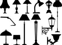 Les dispositifs d'éclairage illustration libre de droits