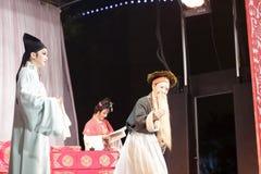 Les distillateurs jinyuliangyuan d'opéra taiwanais images libres de droits