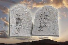 Les Dix commandements illustration stock