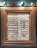 Les Dix commandements photo stock