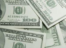 les dollars nous empilent Photographie stock