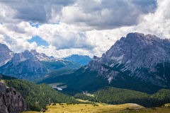 Les dolomites, Italie Images stock