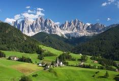 Les dolomites italiennes en été Image libre de droits