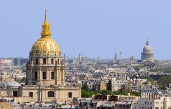 Les DOM d'Invalides, Paris Image stock