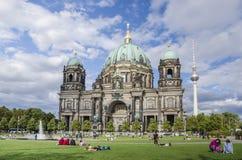 Les DOM de Berlinois Photographie stock