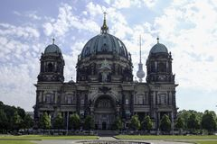 Les DOM de Berlinois/Berlin Cathedral image libre de droits