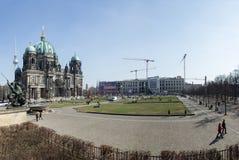 Les DOM de Berlinois, Lustgarten Photos libres de droits