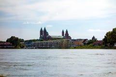 Les DOM de Speyer Image libre de droits