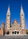 Les DOM de Szegedi (église de Szeged) Photographie stock libre de droits