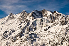 Les DOM, intervalle de montagne de Täschorn. Images libres de droits