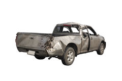 Les dommages d'accident de voiture Photographie stock