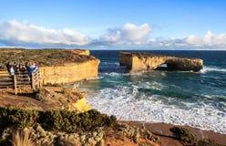 Les douze apôtres dans l'Australie Photos stock