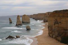 Les douze apôtres. Great ocean road australia Royalty Free Stock Images