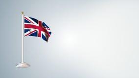 Les drapeaux du monde font une boucle le paquet 3 dans 1 avec le fond banque de vidéos