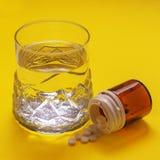Les drogues ont prévu pour le traitement de la maladie dans la médecine image stock