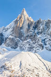 Les Drus Peak in the French Alps II Royalty Free Stock Photo