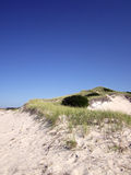 Les dunes chez Chapin Beach en Dennis, le Massachusetts (Cape Cod) Photo stock