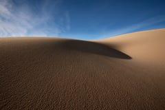 Les dunes de Kelso lissent le sable Photo stock