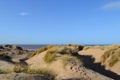 Les dunes de plage sablonneuse. Photographie stock