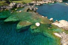 Les eaux bleues 1 Photo libre de droits
