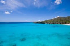les eaux bleues Image stock