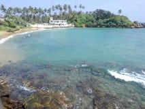 Les eaux bleues claires Photos stock