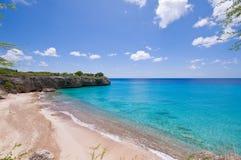 les eaux bleues de point de vue Image libre de droits