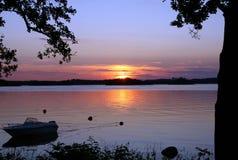 Les eaux calmes Image stock