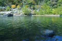 Les eaux calmes Photographie stock