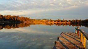 Les eaux calmes Image libre de droits