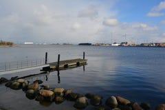 Les eaux calmes Photo libre de droits