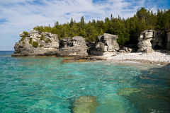 Les eaux claires Photo libre de droits