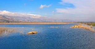 Les eaux d'Ammiq photos stock