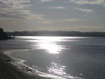 Les eaux d'océan de la plage de Clarks Photographie stock