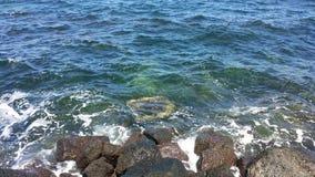 Les eaux de baie Image stock