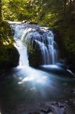 Les eaux de plus près de la source des automnes de multnomah Image libre de droits