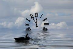 Les eaux du temps Images stock
