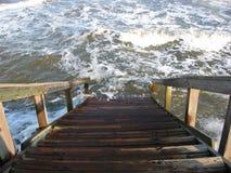 Les eaux en hausse Photo libre de droits