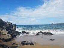 Les eaux hawaïennes Photo libre de droits